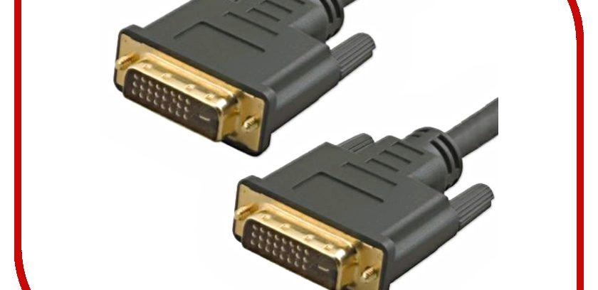 Кабель DVI M/DVI M (24+1) 5bites APC-099-020 double link, 2м.