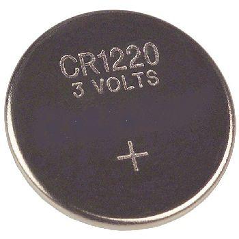 Батарейка CR1220 REXANT3V,40mAh литиевая 1шт.