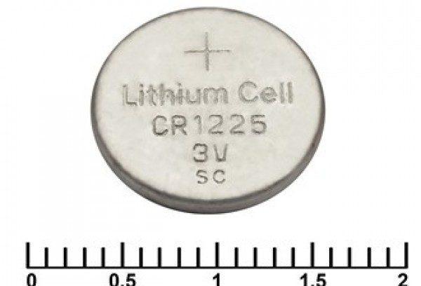 Батарейка CR1225 REXANT 3V,48mAh литиевая 1шт.
