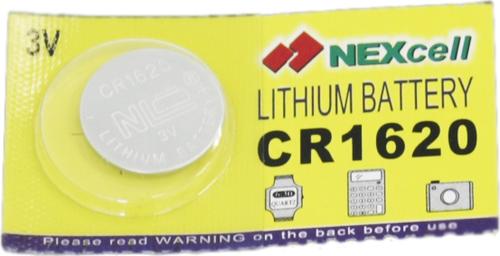 Батарейка CR1620 Nexcell 3V литиевая 1шт.