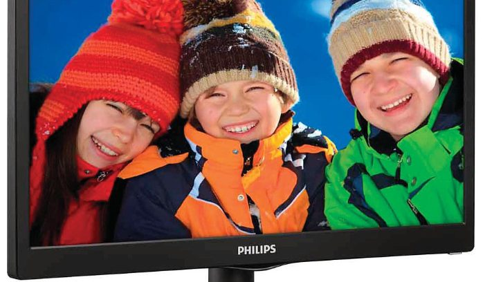 "Монитор TFT 18,5"" Philips 193V5LSB2(10/62) 5ms Black"