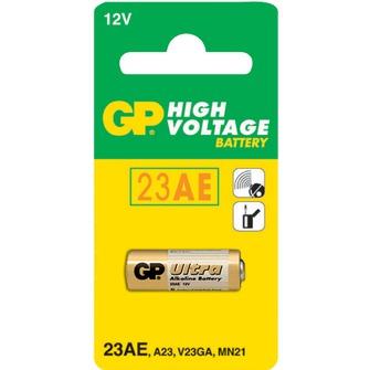 Батарейка 23AE GP 12В (A23,V23GA,MN21) щелочно марганцево-цинковая 1шт
