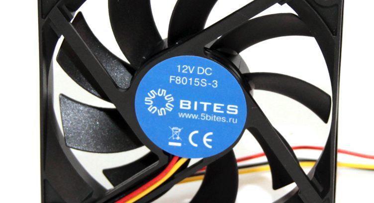 Вентилятор 5bites F8015S-3 80x80x15/SLEEVE/2000RPM/23DBA/3Pin