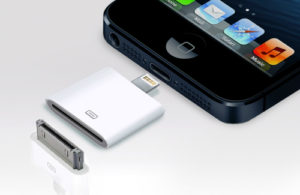 Адаптер Apple 30pin ==>> 8pin (iPhone4==>>iPhone5) Partner
