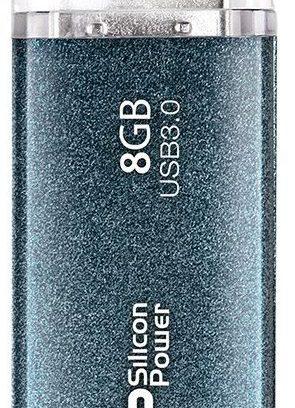 8Gb USB3.0 Флеш накопитель SiliconPower Marvel M01 Blue
