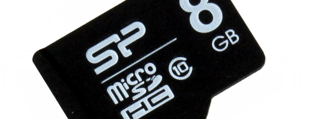 Карта памяти Micro Secure Digital Card 8GB + адаптер (SD) Class 10