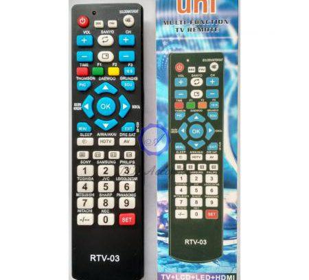 Пульт Дистанционного Управления ТВ Универсальный LED/LCD/HDMI RTV-03
