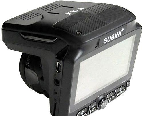 COMBO 3в1(Радар/Видеорегистратор/GPS-Информатор) SUBINI STR XT-3 (Голос/2Mp/ВСЕ Камеры)