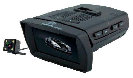 COMBO 3в1(Радар/Видеорег-р-2КАМЕРЫ/GPS-Информатор/) STONELOCK Shasta (Голос/140гр/ВСЕ Камеры)