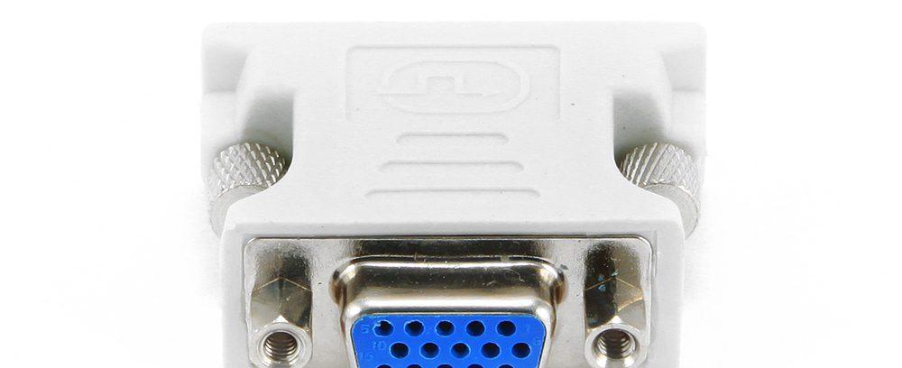 Переходник DVI-VGA Cablexpert A-DVI-VGA, 29M/15F, пакет