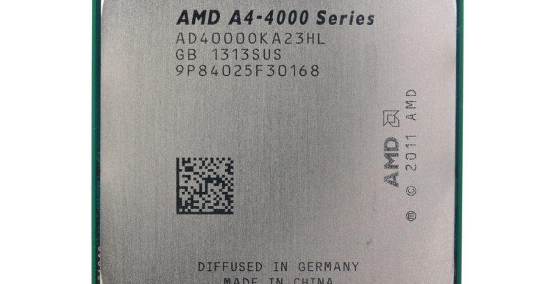 Процессор AMD A4 X2 4000 (3GHz/FM2/65W/Radeon7480D)