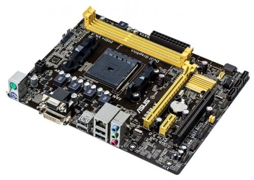 Материнская плата Socket-FM2+ ASUS A58M-K A58/DDR3/DVI/VGA/mATX/OEM