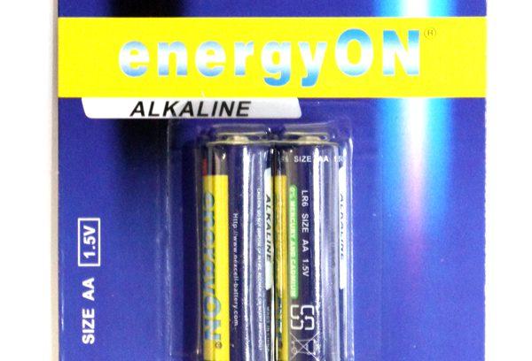 Батарейки AA Nexcell алкалиновые (LR6) 1.5V, 2шт.