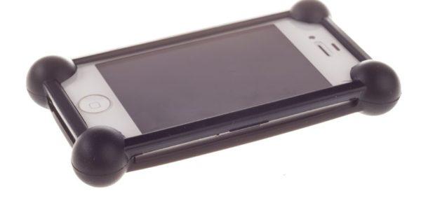 """Универсальный чехол bumper-case 3.5-5.5"""" (черный)"""