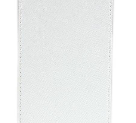 """Универсальный чехол Book-case 3,8"""" (белый)"""