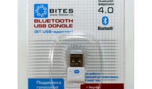 Bluetooth Адаптер 5bites BTA40-03 USB->BBluetooth 4.0