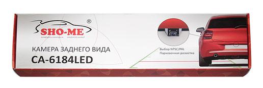 Камера заднего вида в рамке номерного знака Sho-Me CA-6184LED (Универсальная