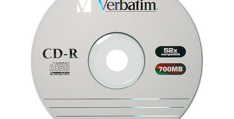 Диск CD-R 700Mb Verbatim 1шт