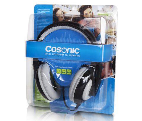 Наушники COSONIC CH-6099A Gray с микрофоном