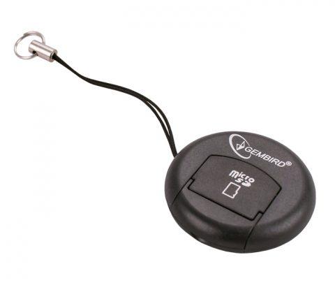 Карт ридер Gembird CR107 (черный) micro-SD внешний USB2.0