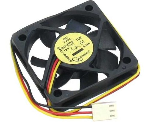 Вентилятор Gembird D50SM-12AS 50x50x10мм,втулка 3pin