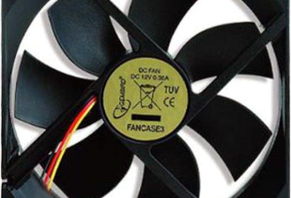Вентилятор Gembird D6015SM-3,60x60x15,втулка,3pin,25см