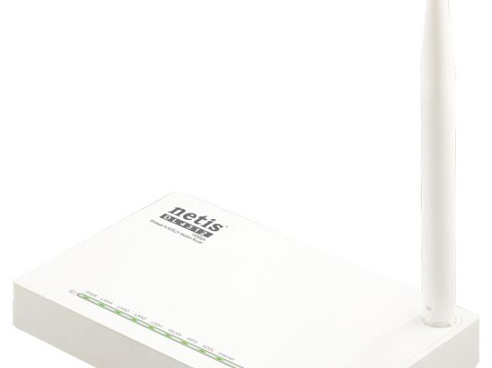 Wi-Fi Роутер/ADSL2-модем Netis DL4312,150Мбит/с,4порта,IPTV