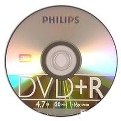 Диск DVD+R 4.7Gb Philips 16x 1шт
