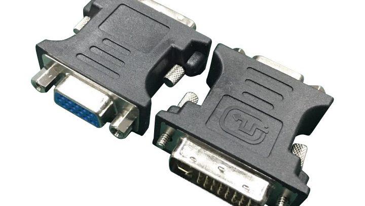 Переходник DVI / VGA 29M/15F Cablexpert A-DVI-VGA-BK