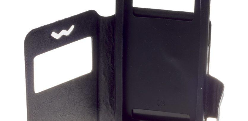 """Универсальный чехол ЭКО.Book-case SLIDER 4.8""""-5.3"""", черный"""