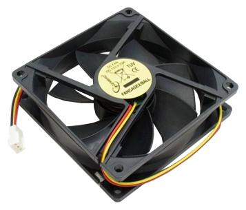 Вентилятор Gembird FANCASE 80x80x25,втулка,3pin