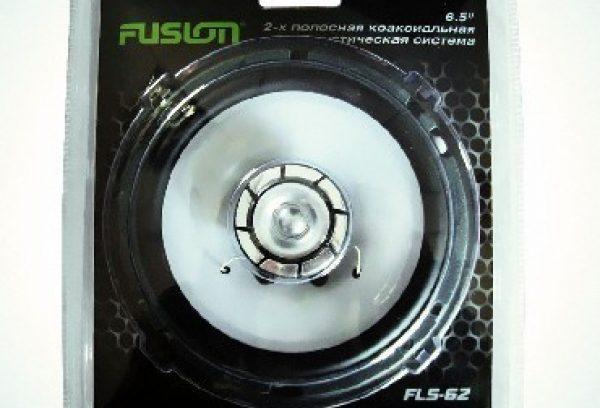 16см Авто-акустика 1 колонка FUSION FLS-62 180W/60 2полос в блистере