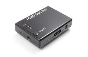 Переключатель KVM HDMI HD19Fx3/19F электронный Greenconnect GC-HDSW301M
