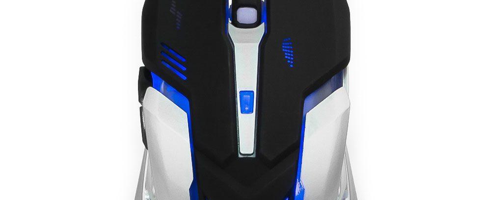 Игровой Комплект кл-ра+мышь Гарнизон GKS-510G USB/Подсветка/Металл/ИГРА/2000DPI