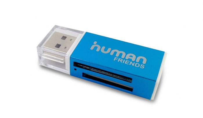 Карт ридер CBR Human Friends Speed Rate Glam Blue,All-in-one