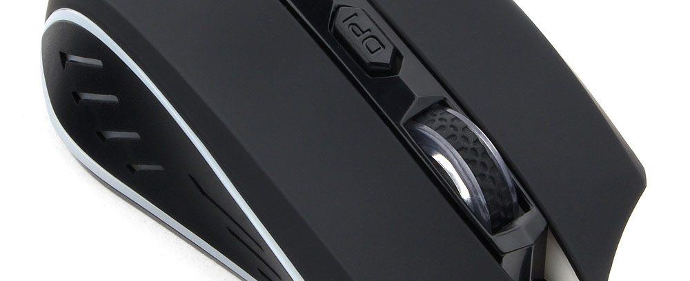 Игровая Мышь Гарнизон GM-700G Алкес, USB,чип Х1,черн,софт тач,1600DPI,3кн.+кол-к