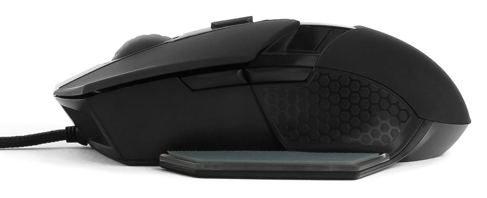Игровая Мышь Гарнизон GM-750G Альтаир2, USB,чип Х3,черн,софт тач,2400DPI,5кн+кол