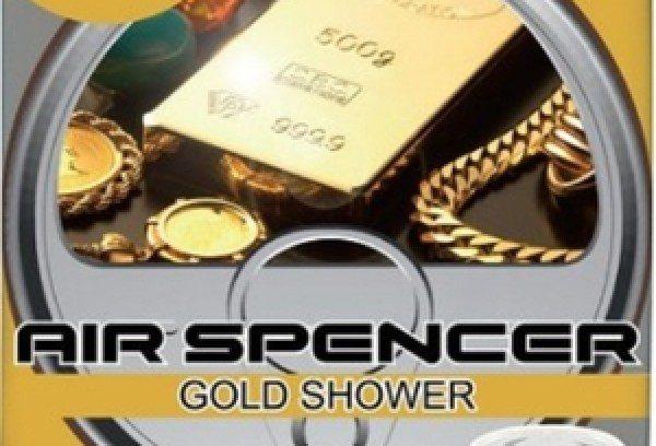 Ароматизатор EIKOSHA Air Spencer/Gold Shower (Золотой Дождь) в Автомобиль