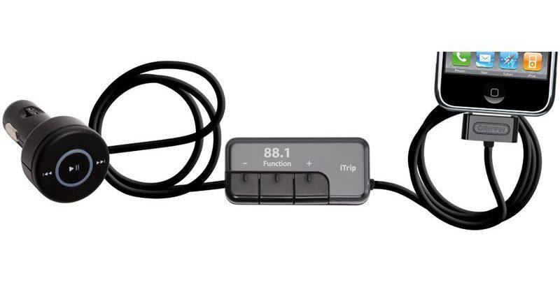 Беспроводной FM-трансмиттер+зарядное устройство iPhone 4 GRIFFIN iTrip