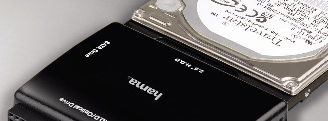 "Переходник c 2,5"" / 3,5"" IDE/SATA на USB2.0, Hama H-49219 без Питания"
