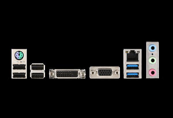 Материнская плата Socket-1151 MSI H110M PRO-VD (DDR4/DVI/SATA3/USB3.1/MATX/RT)