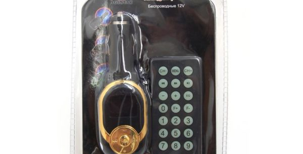 FM-модулятор AgeStar HS-C186 MP3/USB/SD/AUX/LCD/ПультДУ
