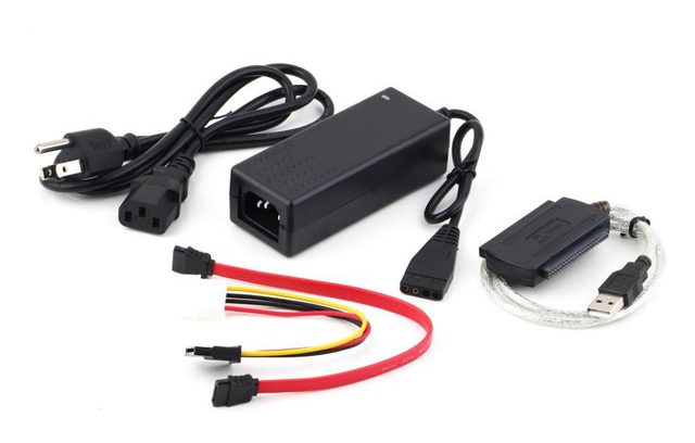 "Переходник c 2,5""/3,5"" IDE/SATA==>>USB2.0 (PB00900)"