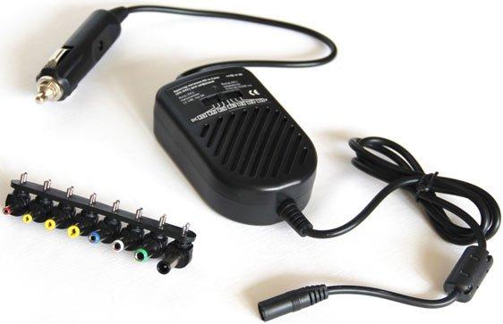Авто-Адаптер питания для ноутбука KS-is Carer (KS-041) универсальный USB 80Вт