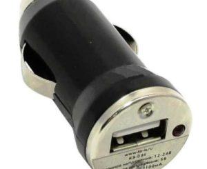 KS-086 Cachey Авто-зарядное ус-во USB 1порт 2100мА от прикуривателя 12В