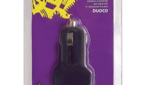 KS-087 Duoco Aвто-Зарядное ус-во 2USB 2А
