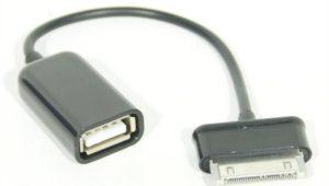 'Переходник OTG USB 30Pin (SAMSUNG) --> USB (ВM) KS-is (KS-134)
