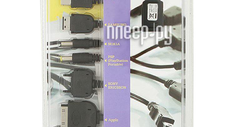 KS-193 Tenka Универсальный кабель 10 в 1 для зарядки моб.уст-в