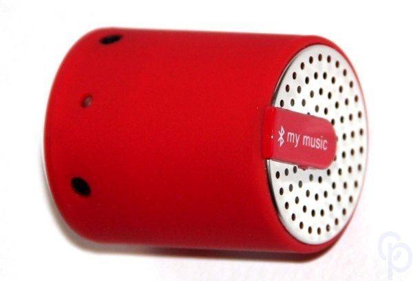 Bluetooth Ак.Система1.0 для Мобильных KS-is MaxiBass KS-222Red 3Вт/600mAh