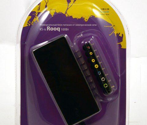 Адаптер питания для ноутбука KS-is Rooq (KS-258) 100Вт